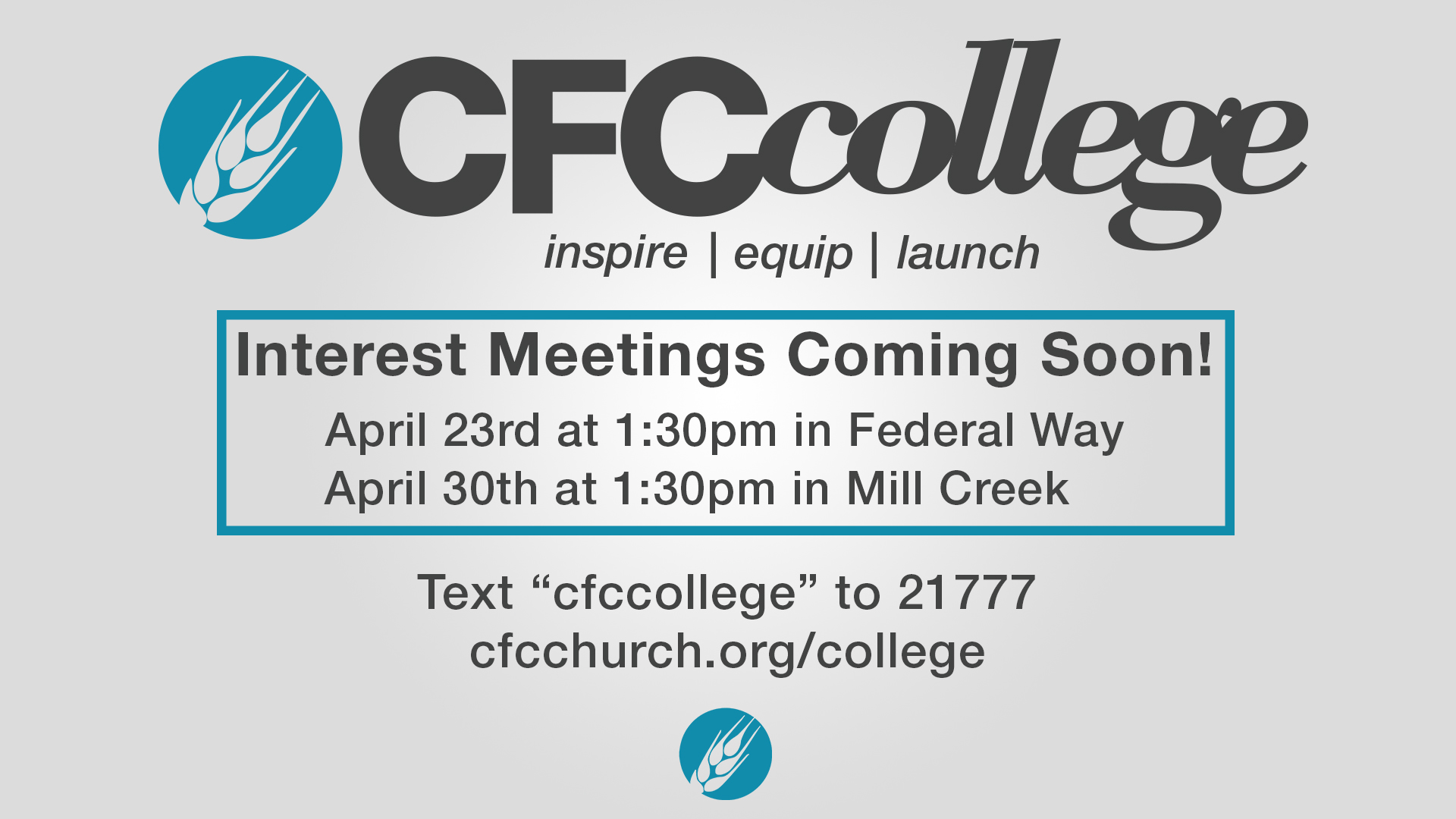 CFC College Slate_Interest Meetings