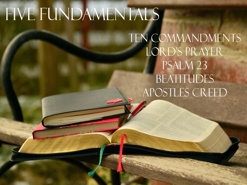 FiveFundamentals